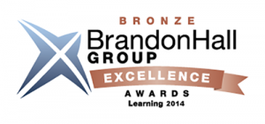 Brandon Hall Group Bronze Award 2014