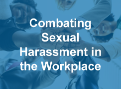 Thumbnail to a course sample titled Combating Sexual Harassment in the Workplace