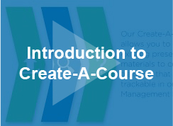 Introduction to Create-A-Course - video - thumb
