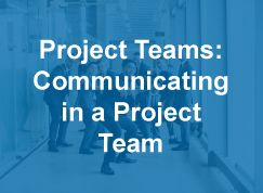 Thumbnail to a course sample titled Project Teams: Communication in a Project Team