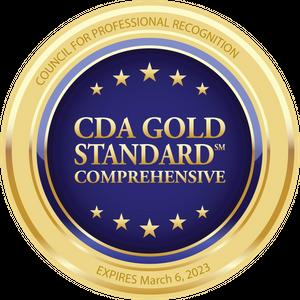CDA Gold Standard Comprehensive.