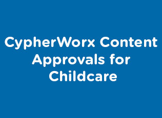 CypherWorx Content Approvals for Childcare